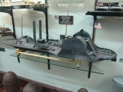 model of the USS Choctaw