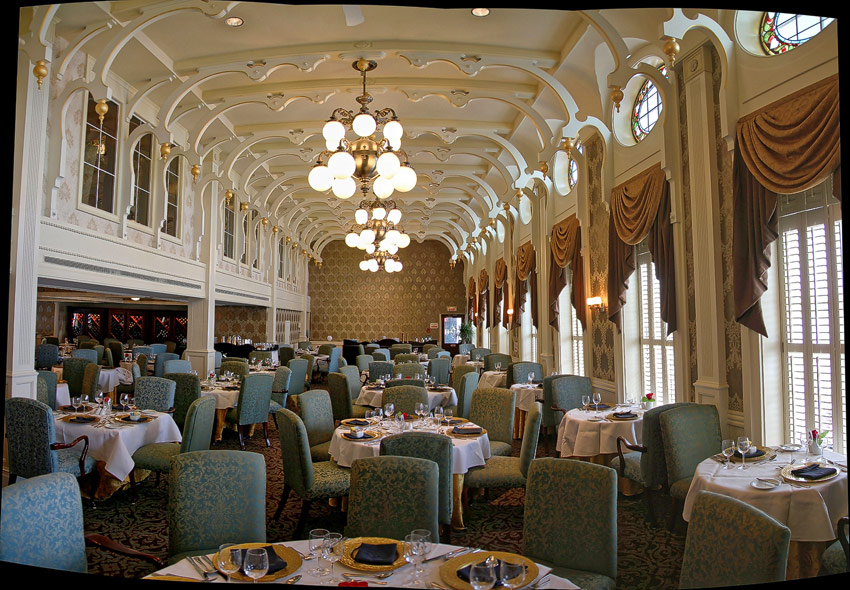 American Queen - J. M. White dining room