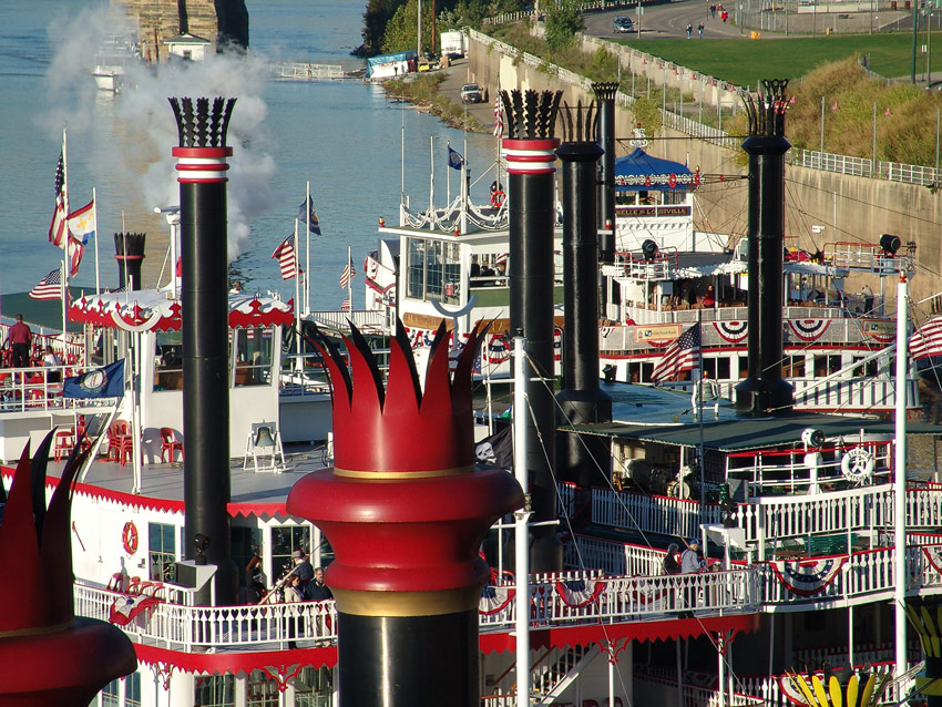 Tall Stacks, Cincinnati, 2006