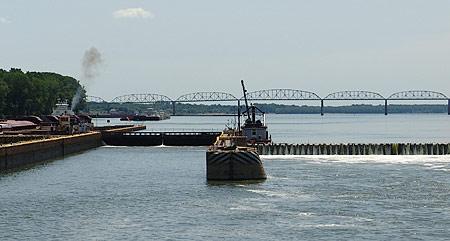 Locks and Dam 52, Ohio River
