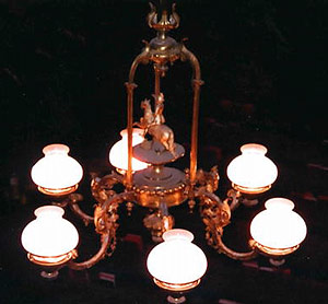 Robert E. Lee chandelier